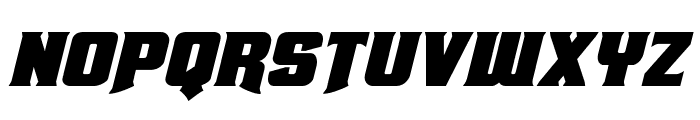 Union Gray Italic Font LOWERCASE