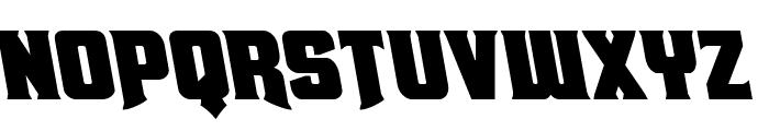 Union Gray Leftalic Font UPPERCASE