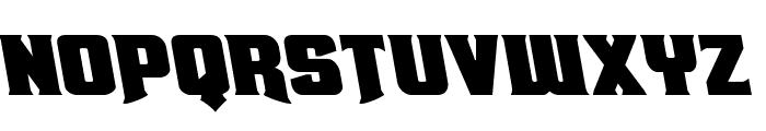 Union Gray Leftalic Font LOWERCASE