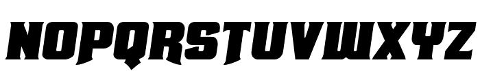 Union Gray Semi-Italic Font LOWERCASE