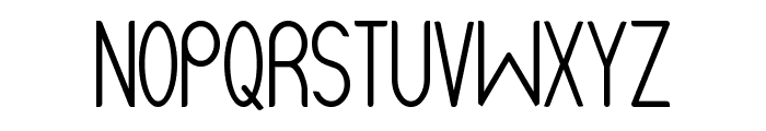 Unique Alpha 101 Font UPPERCASE