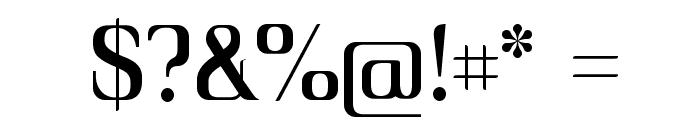 Unique Font OTHER CHARS