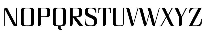 Unique Font UPPERCASE