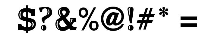 UnisanShineUT Font OTHER CHARS