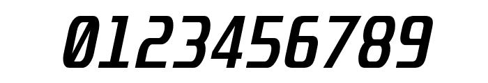 Unispace Bold Italic Font OTHER CHARS