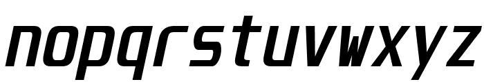 Unispace Bold Italic Font LOWERCASE