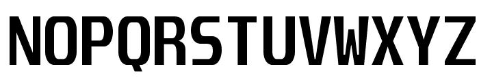 Unispace-Bold Font UPPERCASE