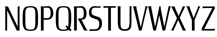 UnitechCondUT Light Font UPPERCASE