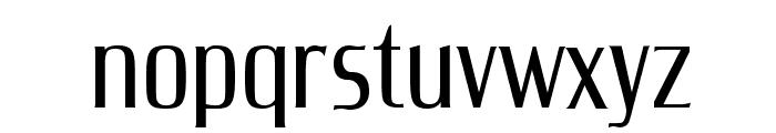 UnitechCondUT Light Font LOWERCASE