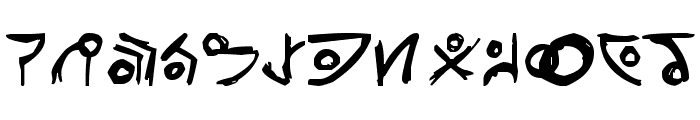 Unitology [Dead Space] Font LOWERCASE