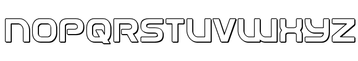 Universal Jack 3D Font UPPERCASE