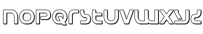 Universal Jack 3D Font LOWERCASE