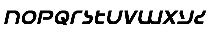 Universal Jack Italic Font LOWERCASE