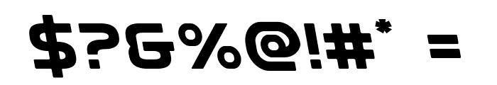Universal Jack Leftalic Font OTHER CHARS