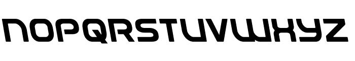 Universal Jack Leftalic Font UPPERCASE
