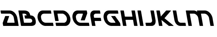 Universal Jack Leftalic Font LOWERCASE