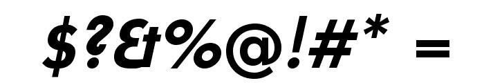 UniversalisADFPro-BoldOblique Font OTHER CHARS
