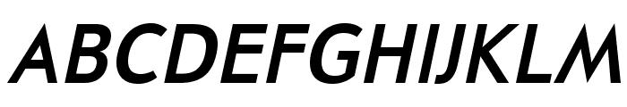 UniversalisADFPro-BoldOblique Font UPPERCASE