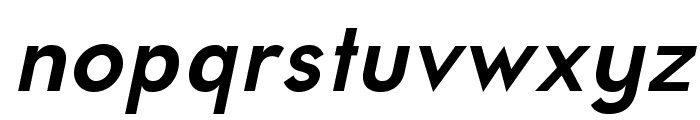 UniversalisADFPro-BoldOblique Font LOWERCASE