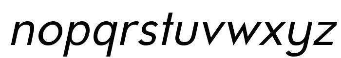 UniversalisADFPro-Oblique Font LOWERCASE