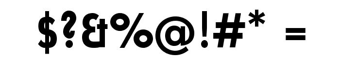 UniversalisADFStd-BoldCond Font OTHER CHARS