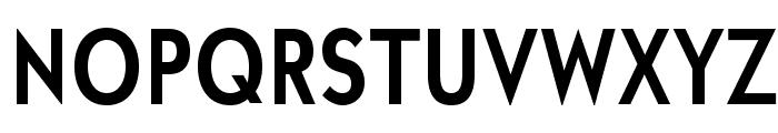 UniversalisADFStd-BoldCond Font UPPERCASE