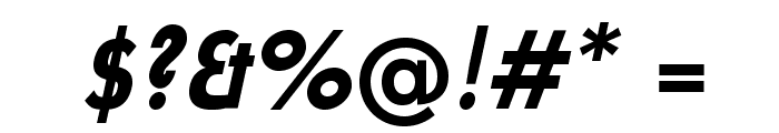 UniversalisADFStd-BoldCondIt Font OTHER CHARS