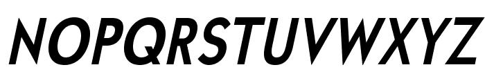 UniversalisADFStd-BoldCondIt Font UPPERCASE