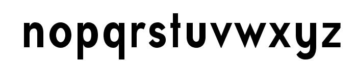 UniversalisADFStd-BoldCond Font LOWERCASE