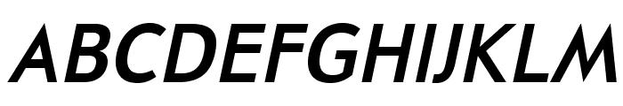 UniversalisADFStd-BoldItalic Font UPPERCASE