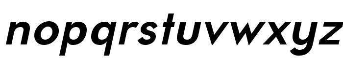 UniversalisADFStd-BoldItalic Font LOWERCASE