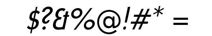 UniversalisADFStd-CondItalic Font OTHER CHARS