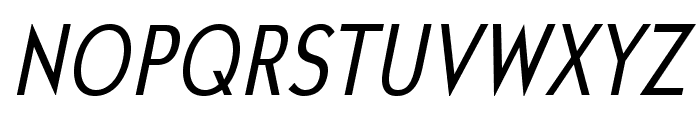UniversalisADFStd-CondItalic Font UPPERCASE