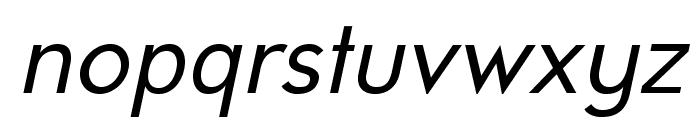 UniversalisADFStd-Italic Font LOWERCASE