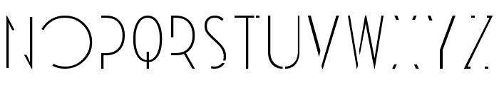 Universe Font UPPERCASE