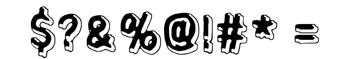 Universedge Font OTHER CHARS