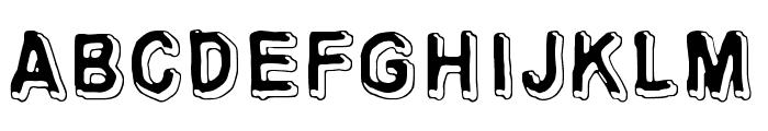 Universedge Font UPPERCASE