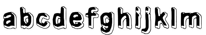 Universedge Font LOWERCASE