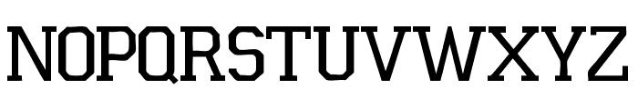 Universidad 2015 Font UPPERCASE