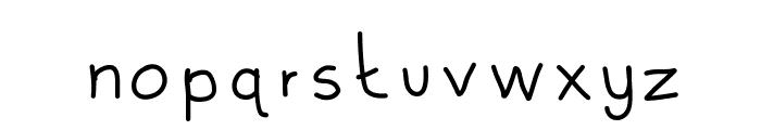UniversityTwo Font LOWERCASE
