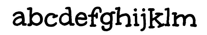 Unkempt Bold Font LOWERCASE