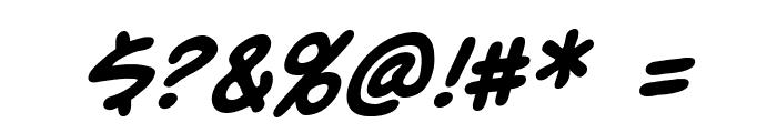 UnmaskedBB-Bold Font OTHER CHARS