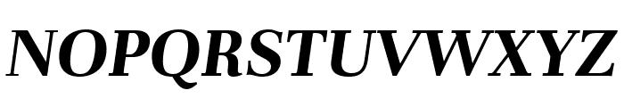 Unna Bold Italic Font UPPERCASE