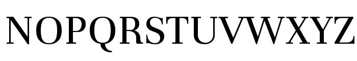 Unna-Regular Font UPPERCASE