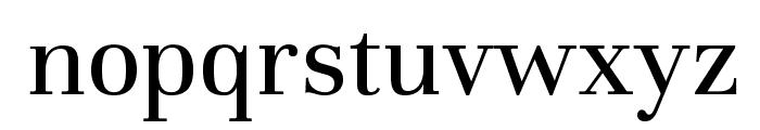 Unna-Regular Font LOWERCASE