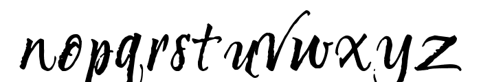 Unnamed Melody Font LOWERCASE