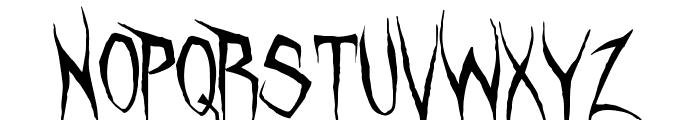 Unquiet Spirits Font UPPERCASE