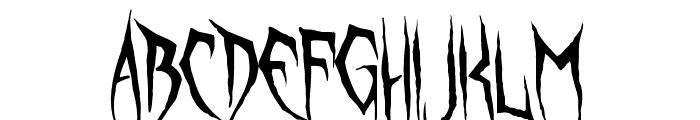 Unquiet Spirits Font LOWERCASE