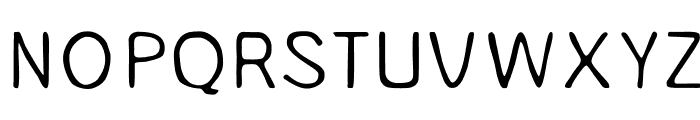 Unruly Light Font UPPERCASE