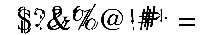 Unserif Font OTHER CHARS